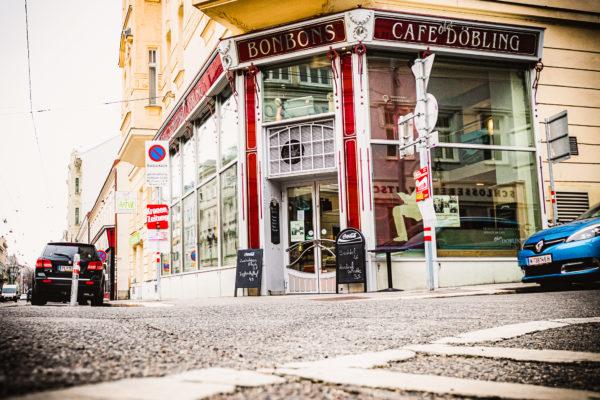 Cafe Konditorei Wien 1190 von außen Döblinger Hauptstraße