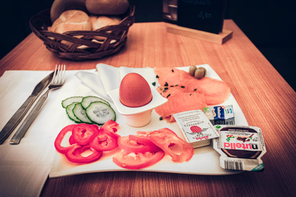 Frühstück Cafe Konditorei Oberdöbilng Wien 1190 Ei Semmel